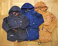 Куртки на флисе для мальчиков оптом, Grace, 134-164 см,  № В70873, фото 1