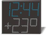 Электронные часы-термометр Миг-26_26TT