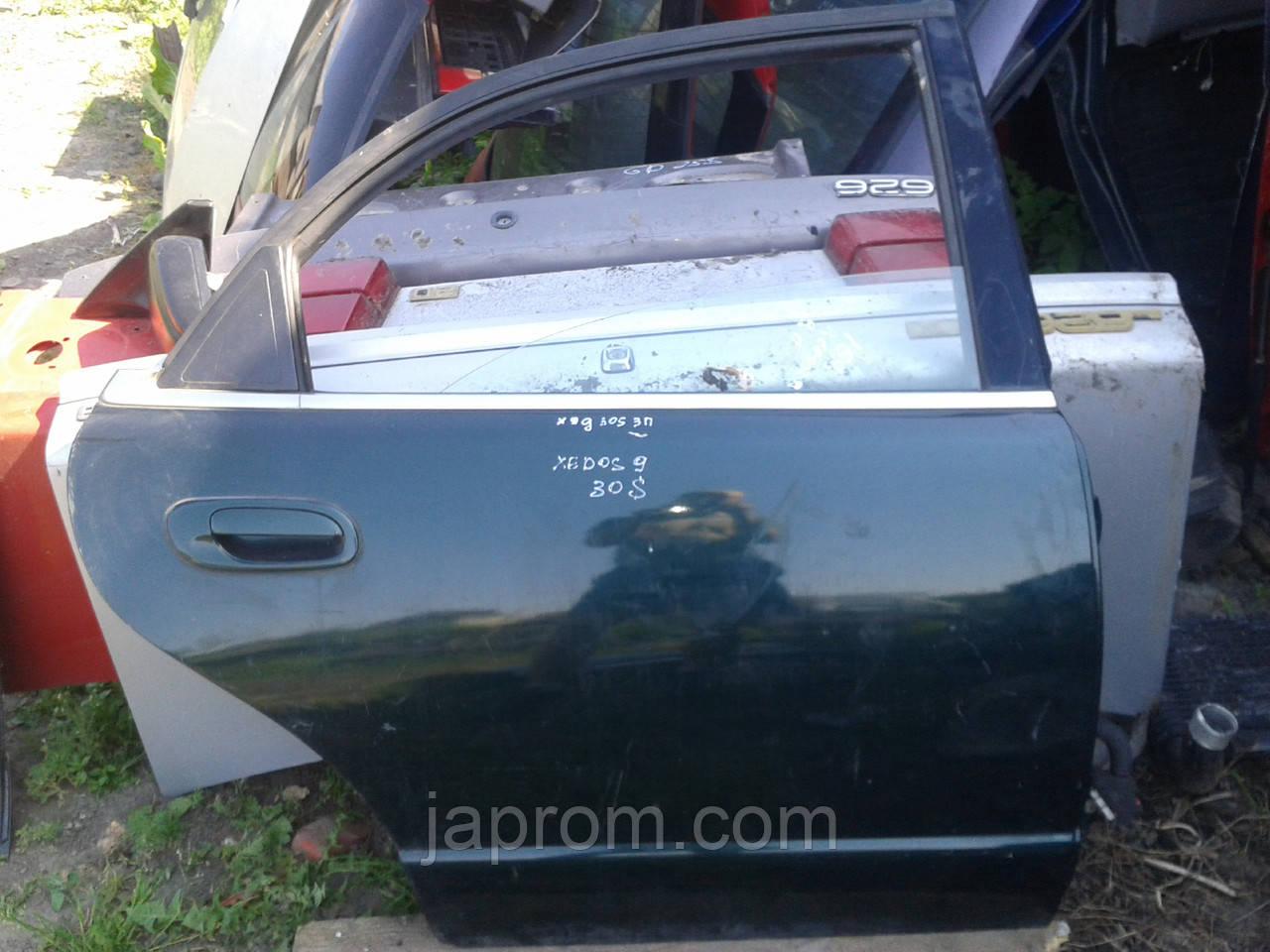 Дверь задняя правая Mazda Xedos 9 1994-2002г.в. зелеая