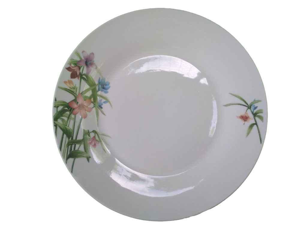 """Дрібні керамічні тарілки d=17,5 см (12 штук) (D908) """"ДАНКО"""""""