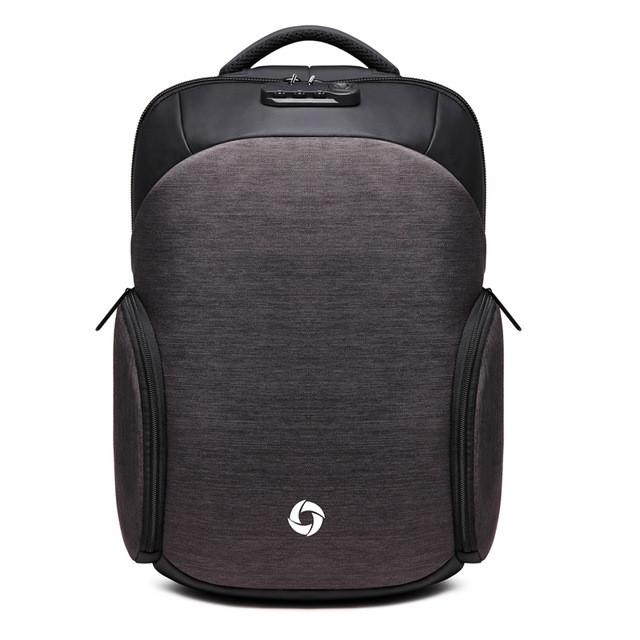 Мужской Рюкзак Городской для Ноутбука Ozuko (8936) Серый