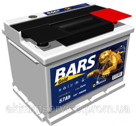 Аккумулятор автомобильный Bars Gold 67AH L+ 590A