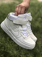 Кроссовки Nike Air Force AirForce высокие white e3355e9b08614