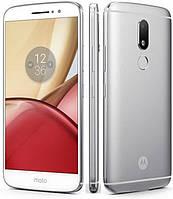 "Смартфон Motorola Moto M 4/32Gb Silver (XT1662), 16/8Мп, 2sim, экран 5.5"" IPS, 4G, 8 ядер"