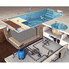 Ремонт устаткування басейнів