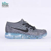 Мужские кроссовки Nike Vapormax Grey Реплика, фото 1