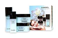 Набор кремов Chanel Hydra Beauty 4в1 (День, Крем-гель, Глаза, Сыворотка)