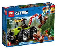 Конструктор Lepin 02092 Лесоповальний трактор 194 деталей, фото 1