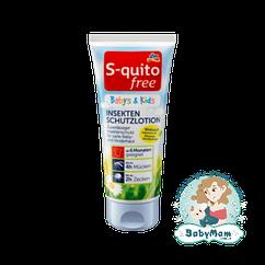 Крем от насекомых S-quito Free Babys & Kids, 100 мл