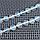 Лунный камень, Ø10 мм. граненый молочный, бусы, 433БСЛ, фото 4