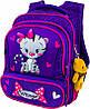 Рюкзак школьный ортопедический фиолетовый для девочки 1-4 класса Winner stile 8029 размер 29 х 17,5 х 38,5см