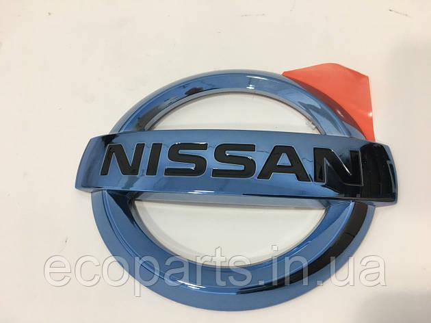 Эмблема на зарядный порт Nissan Leaf, фото 2
