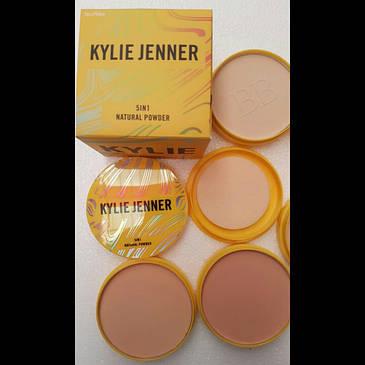Компактная пудра Kylie Jenner 5 in1 natural pressed powder 48 g, фото 2