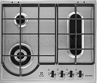 Газовая варочная поверхность ELECTROLUX EGH6349BOX, фото 1