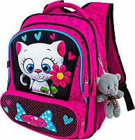 Рюкзак ортопедический школьный для девочек 1-4 класс Winner stile 8030 размер 29см х 17,5см х 38,5см