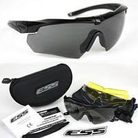 Тактические очки ESS Crossbow Polarized для охоты стрелковые велоочки