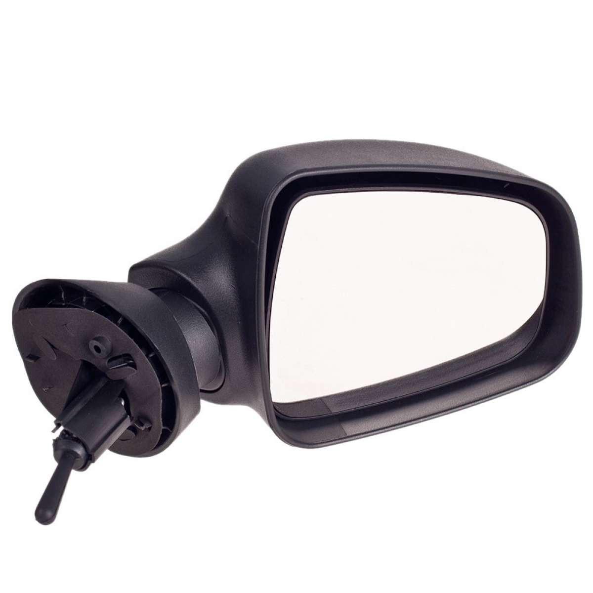 Зеркало боковое YH-3394 Renault Logan черное/механ