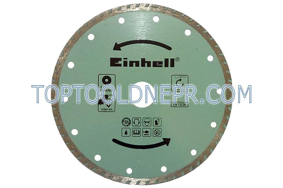 Круг отрезной по бетону 180х25,4 Einhell плитка,камень