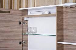 Зеркальный шкаф Ювента Sofia Nova СнШНЗ-85 Grey-brown, фото 2