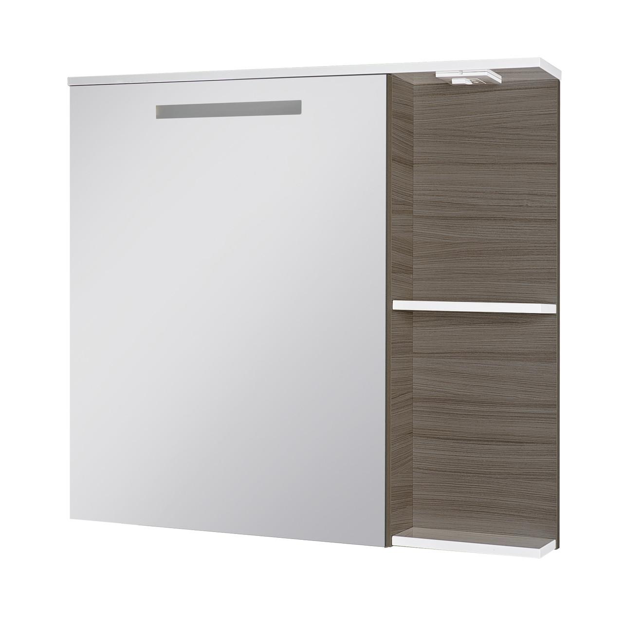 Зеркальный шкаф Ювента Sofia Nova СнШНЗ-85 Grey-brown