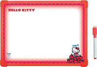 Дошка сухоcтираєма, магнітна, А3, Hello Kitty