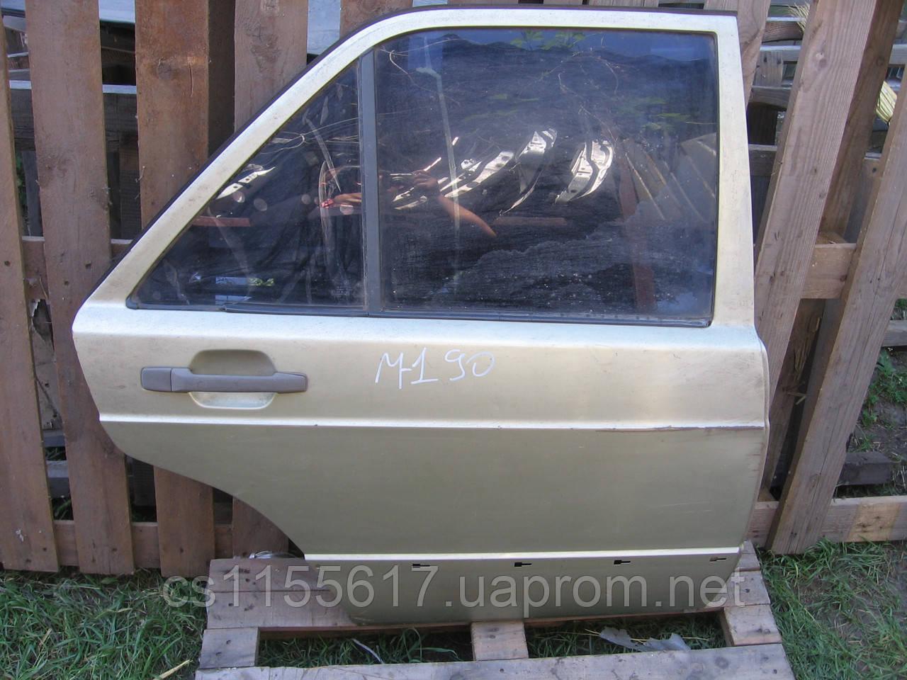 Дверь задняя правая б/у на Mercedes 190 (W201) год 1982-1993