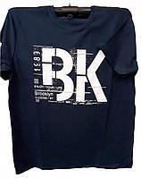 Большая мужская футболка с надписью ВК
