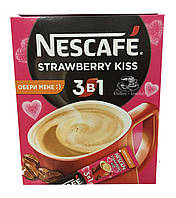 Кофейный Напиток Nescafe 3в1 Strawberry Kiss / Клубничный Поцелуй (20x13 г)