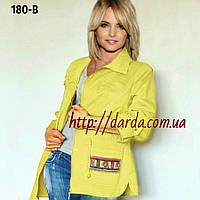 Блузка с вышивкой Ylanni 180-В