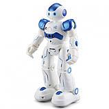 УЦЕНКА!! Боевой программируемый робот JJRC R2 Cady Wida Бело-голубой (JJRC-R2B), фото 2
