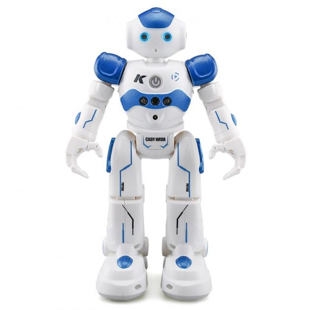 УЦЕНКА!! Боевой программируемый робот JJRC R2 Cady Wida Бело-голубой (JJRC-R2B)