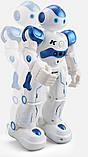 УЦЕНКА!! Боевой программируемый робот JJRC R2 Cady Wida Бело-голубой (JJRC-R2B), фото 4