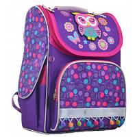 Школьный  каркасный  рюкзак H-11 Owl для девочек, фото 1