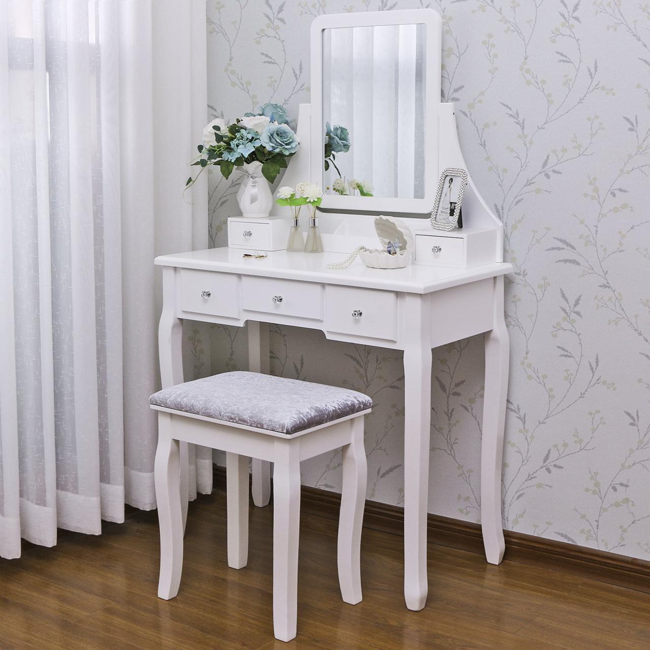 """Туалетный столик из натурального дерева """"Джин"""""""
