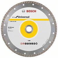 Алмазный отрезной круг 230 мм x 22,23 мм, ECO for Universal Turbo BOSCH