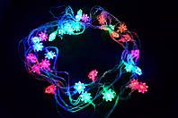 Гирлянда LED RGB с насадкой «Звездочка»