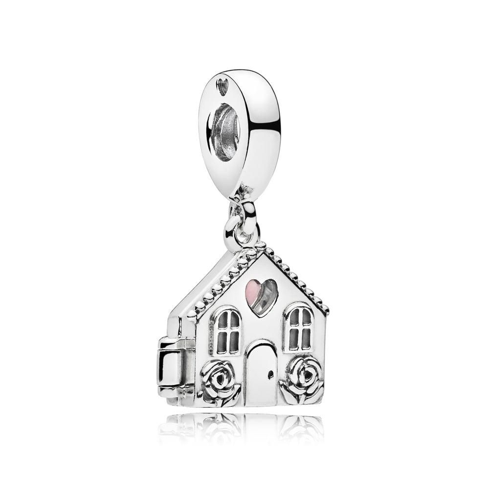 Серебряная подвеска «Идеальный дом» в стиле Pandora