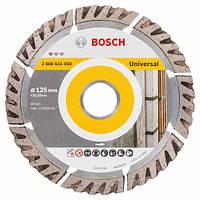 Алмазный отрезной круг 125 x 22,23 мм, Standard for Universal BOSCH