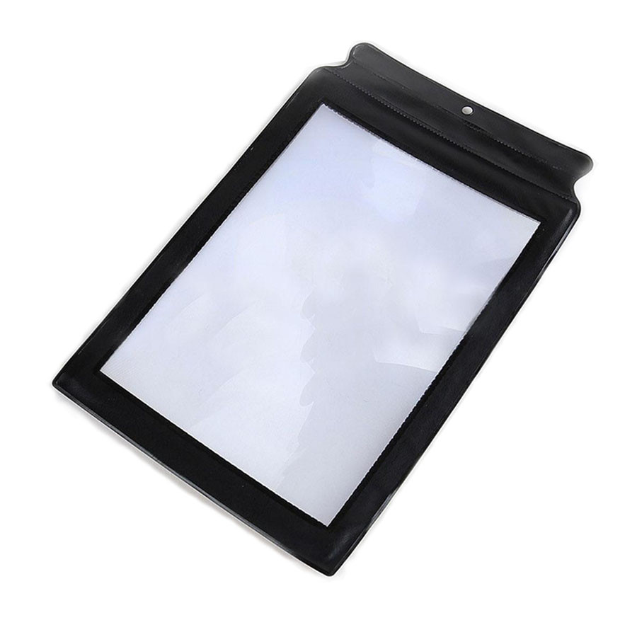 Переносное увеличительное стекло, трехкратное увеличение, лупа A5 линза