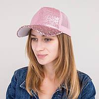 Стильная женская кепка с пайетками - ТРЕНД сезона - 62018-2