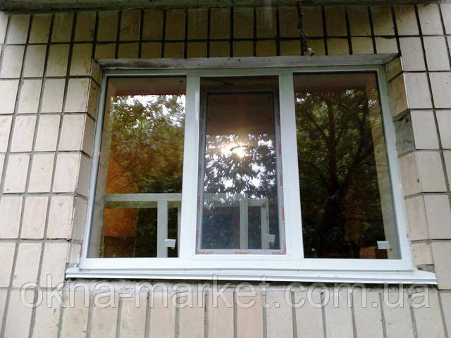 Заказать окна недорого в Киеве, фото компании Okna Market