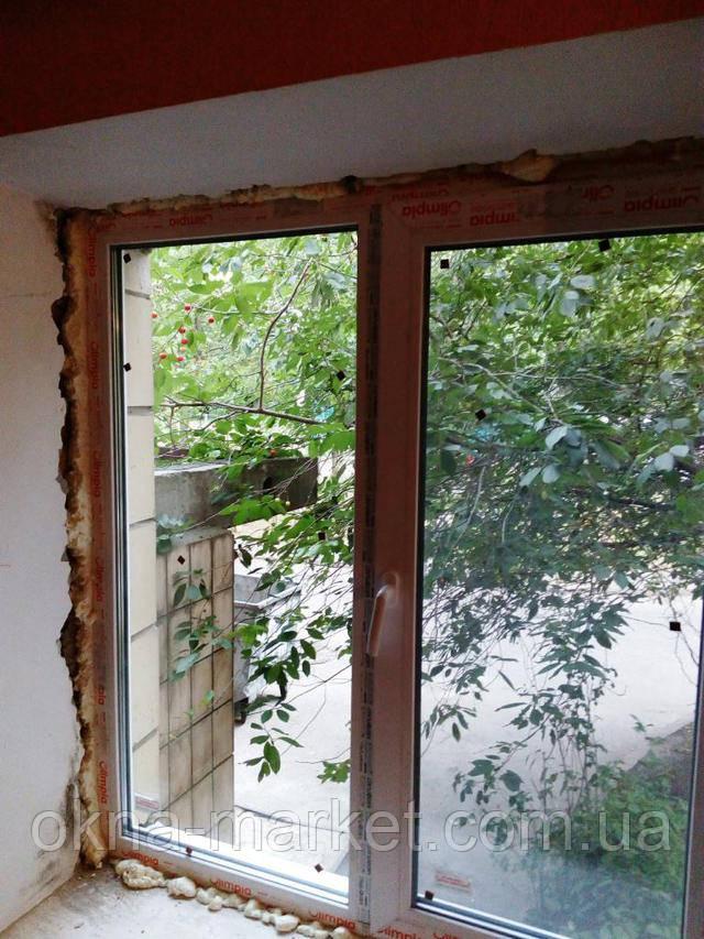 Заказать окна с установкой в Киеве - фото фирмы Окна Маркет