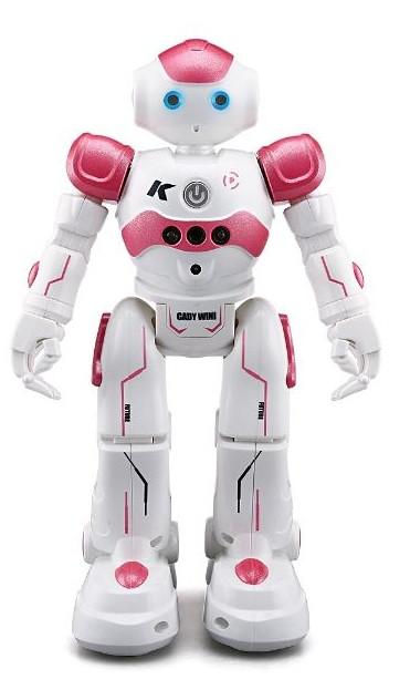 Бойовий програмований робот JJRC R2 Cady Wini Біло-рожевий (JJRC-R2R)