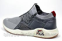 Мужские кроссовки в стиле Fila, Gray, фото 3