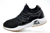 Мужские кроссовки в стиле Fila, Black\White