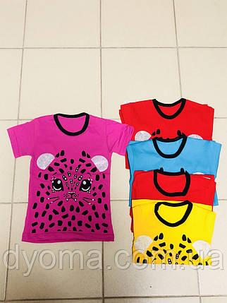 """Детская футболка """"Тигруша"""" для девочек, фото 2"""