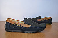Мужские  летние мокасины.Легкие кожаные туфли.Натуральная кожа.