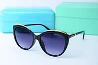 Солнцезащитные очки Tiffany черные