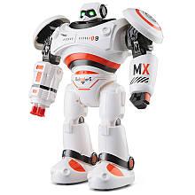 Боевой программируемый робот JJRC R1 Defender Бело-оранжевый (JJRC-R1)