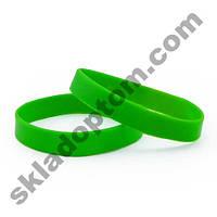Браслет силиконовый (зеленый)